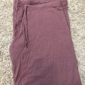 VS Modal Wide leg pant with satin strings NWT